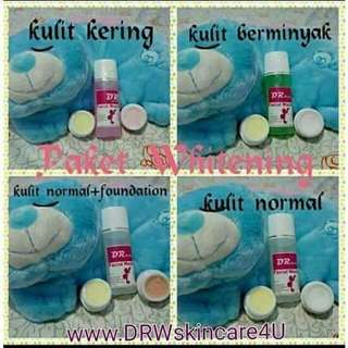 Paket acne dan whitening