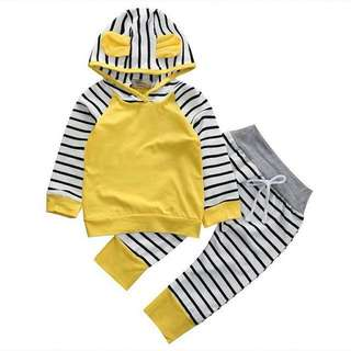 (PO) Yellow Stripes Set