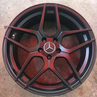 """19"""" used rims for Mercedes Benz"""