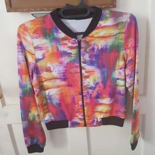 Colorful abstract jacket