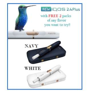 IQOS Unit 2.4 PLUS for Starters!!