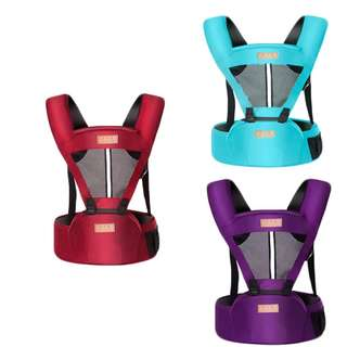 Baby Toddler Kids Ergonomic Breathable Adjustable Carrier Hip Seat