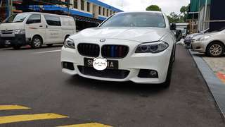 F10 M sport front bumper with Matt Grille