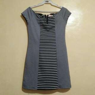 stripe dress authentic