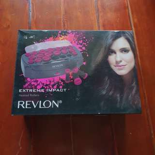 Revlon extreme impact heated rollers