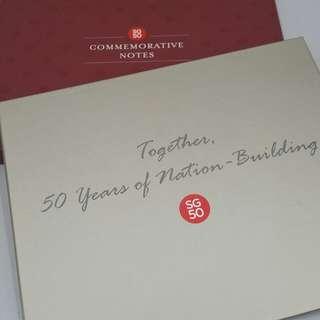 SG50 Commemorative Notes