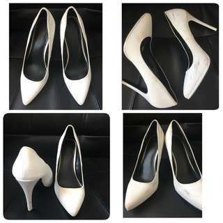 Call it Spring white shoes size 8