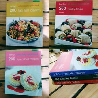 Hamlyn Recipe 📚 Books (Bundle)