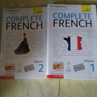 Dua Buku Complete French, Dilengkapi Cd Audio