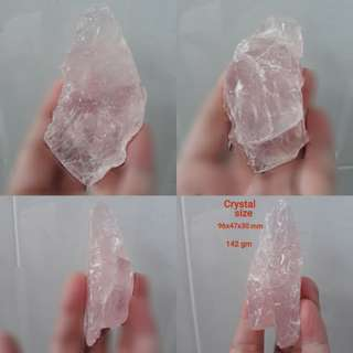 Madagasca Rose Quartz rough speciment. Good price.