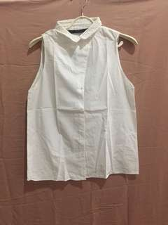 Zara blouse kutung