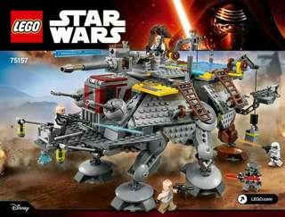 Lego Starwars captain rex at et