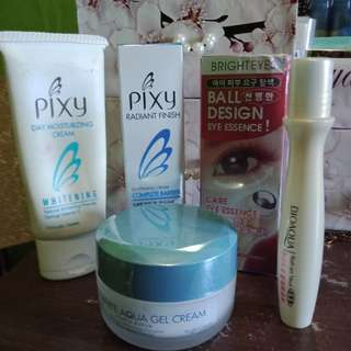 Pixy Day & Night Cream & Eye Essence