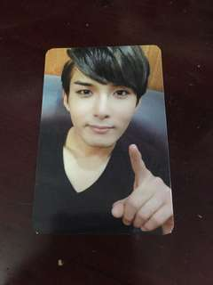 Ryeowook super junior sexy, free & single official photocard/pc