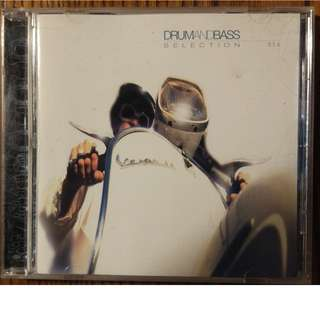 Used CD: Dieselboy ‎– Drum And Bass Selection USA