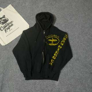 California zip hoodie