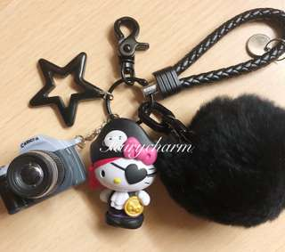 Pirate kitty fob