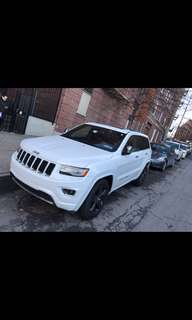 "JEEP GRAND CHEROKEE limited 2014 WHITE V6 4x4 FOR SALE!!!29000 MILES ONLY!!!  NAVIGATION,20""RIMS,REMOTE STAR,PANORAMIC SUNROOF,LEATHER ,HEAT SEAT,HEAT STEERING WHEEL, FULLY LOADED, ACCEPTING OFFERS!!! $22,600..."