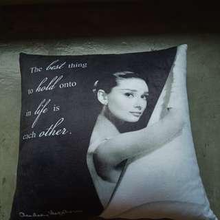 Audrey Hepburn Pillow
