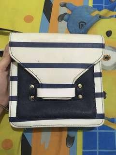 MC collection stripes bag