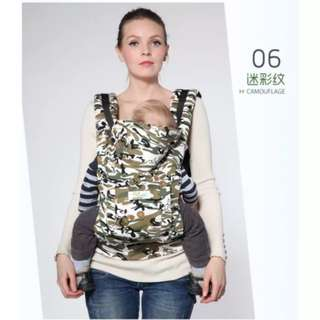 Limited Edition Camouflage Mickey Disney Reversible Tactical Ergonomic Performance Baby Carrier Wearing