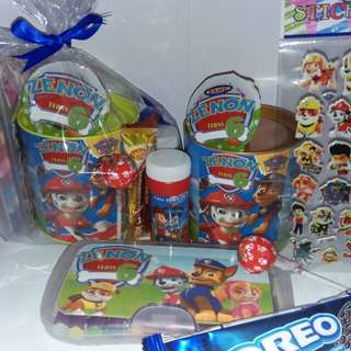 Customised Paw Patrol Theme Ultimate Pack