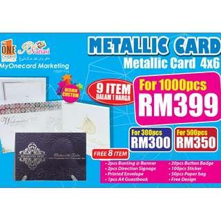 Wedding Card Promotion (Custom Design)