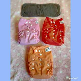 👶Baby cloth diaper with insert