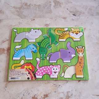 Animal Puzzle for Kids (Missing Part)