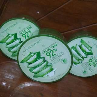 Nature republic shooting gel aloe Vera 92%