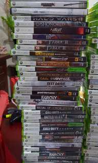 For sale original xbox 360 games