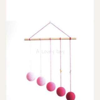 Infant Baby Montessori Visual Mobile DIY Kit (The Gobbi)