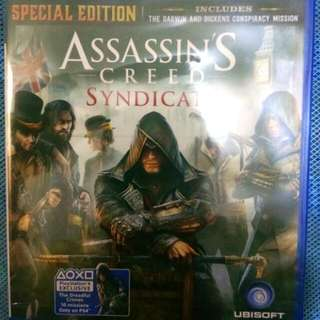 Kaset BD PS 4 AC Syndicate