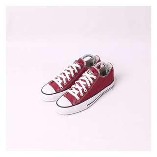 Sepatu Converse Red Maroon Classic