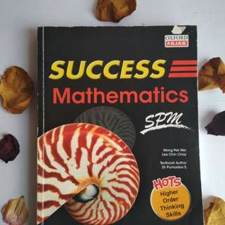 SUCCESS MATHEMATICS SPM