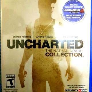 Kaset BD pS 4 Uncharted