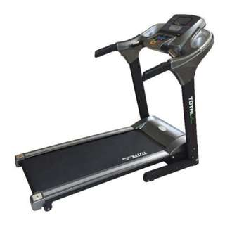 Treadmill tl 146 3HP Big Elektrik Komersial speed 16 - 20 program Murah
