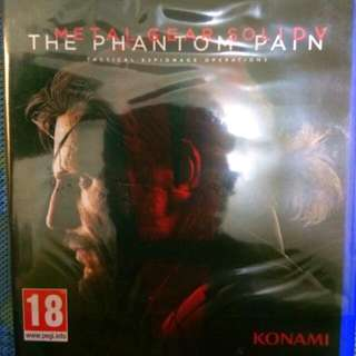 Kaset BD PS4 Phantom Pain