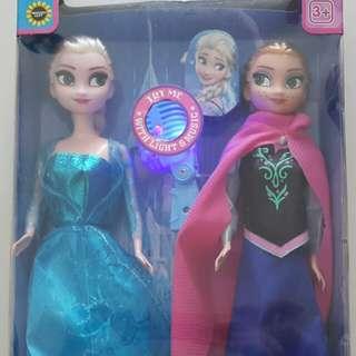 Ana and Elsa Doll