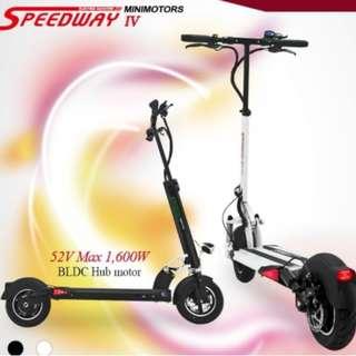 Speedway 4 IV 52V 600W 21AH