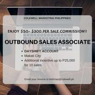 Outbound Sales Associate