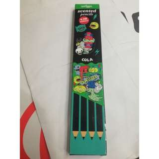 Smiggle scented pencil set rm15 NEW