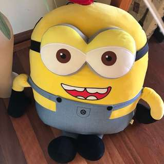 Minions giant stuffed toy