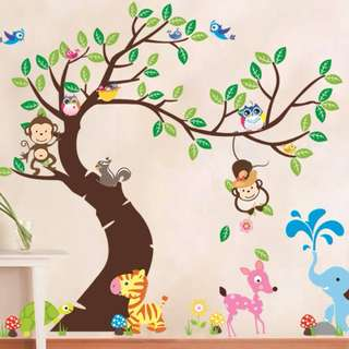 Kids Wall Home Decor/Decorations/Decal/Sticker DIY
