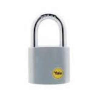 Yale Y12 Chrome Padlock 50mm