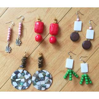 Cherry of Manila Handmade Earrings