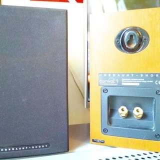 MORDAUNT-SHORT CARNIVAL 1 BOOKSHELF SPEAKER (a pair)