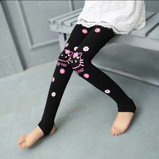 Hello Kitty girl legging for 5 ro 6 years old