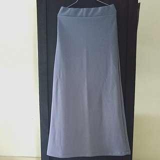 Grey Long Skirt FREE SHIPPING #letgo4raya