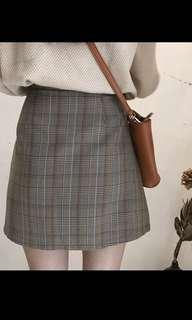 🚚 [全新]小清新格子裙❤️